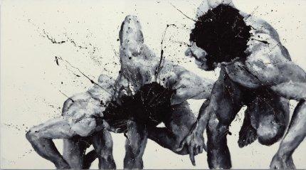 Biennale di venezia 55 esposizione internazionale d 39 arte for Dipinti moderni bianco e nero