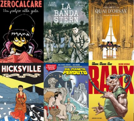 5 fumetti per il 2013