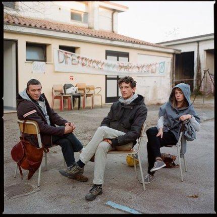 Luca Orazio, Nicola Vendraminetto, Gaia Righetto, ex Caserma Piave, Treviso