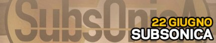 Banner Subsonica