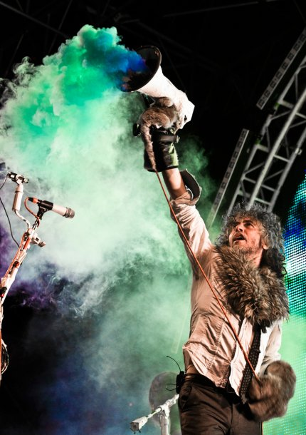 The flaming lips-Parcheggio Stadio Euganeo-2012.07.10