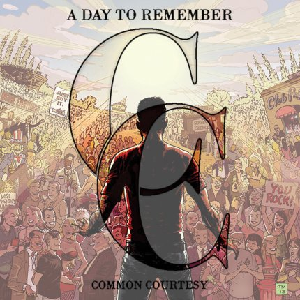 A day to remember common courtesy cd cover