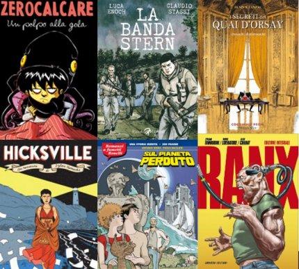 5 fumetti per il 2013