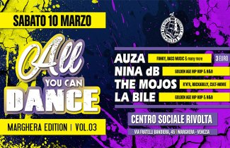 All You Can Dance | Marghera Ed. 03